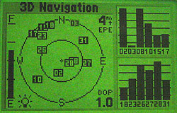 Garmin GPS III Plus - навигация