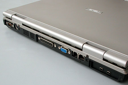 ноутбук ASUS B1 - разъемы