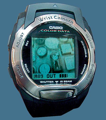 Наручные часы-фотокамера Casio WQV3
