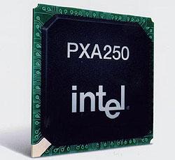 32-разрядные процессоры PXA210 и PXA250