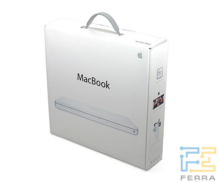 Apple MacBook: упаковка
