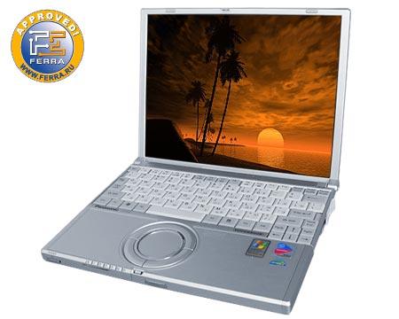Panasonic Toughbook CF-W2: японский ноутбук с алюминиевым корпусом