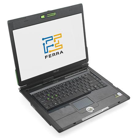 Ноутбук ASUS G1P: вид спереди