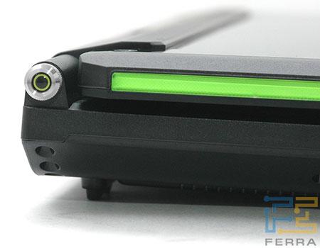 Ноутбук ASUS G1P: основание крышки