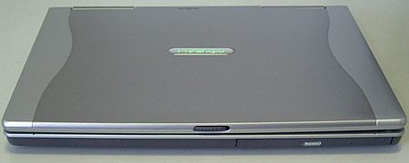Prestigio Nobile 157 - передняя панель
