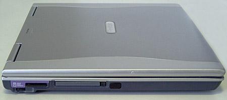 Prestigio Nobile 157 - левая панель