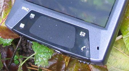 HP iPAQ hx4700 - тачпад (pad.jpg)