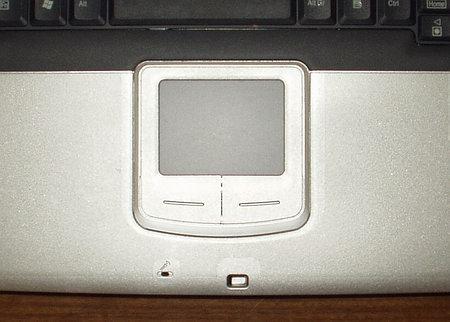 MaxSelect TravelBook M620 - touchpad