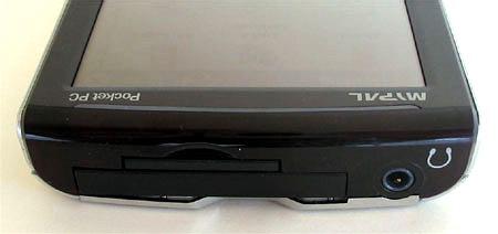 ASUS MyPal A730W - Верхний торец корпуса