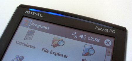 ASUS MyPal A730W - Индикаторы модуля беспроводной связи