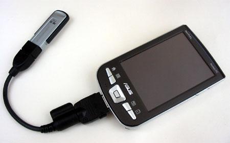 ASUS MyPal A730W - USB-адаптер