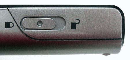 ASUS MyPal A730W - Правый торец корпуса