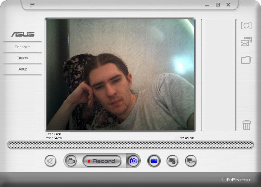 Как сделать фото с веб камеры ноута