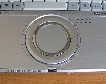 Panasonic CF-W2 - сенсорная панель