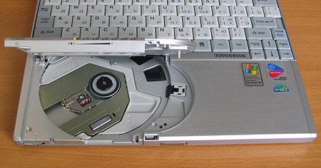 Panasonic CF-W2 - привод