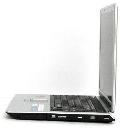 LG LS55 - вид сбоку