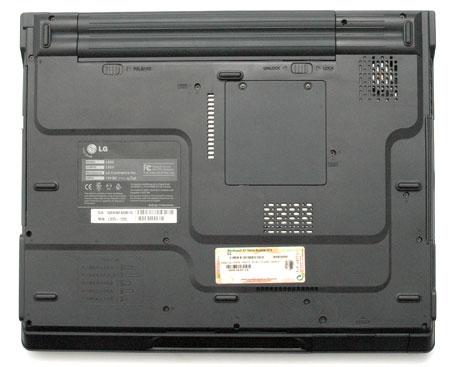 LG LS55 вид снизу