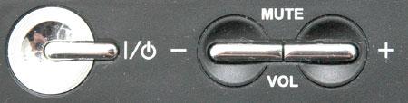 клавиши регулировки звука LG LS55