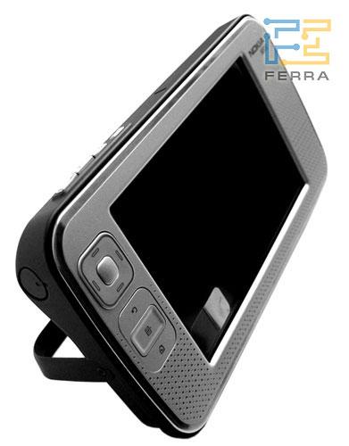 Nokia N800: фронтальный вид 2