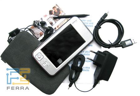 Nokia N800: внутри коробки