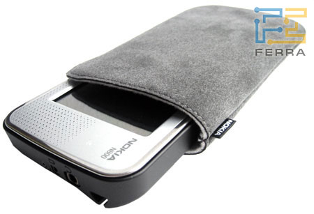 Nokia N800: чехол для транспортировки 1