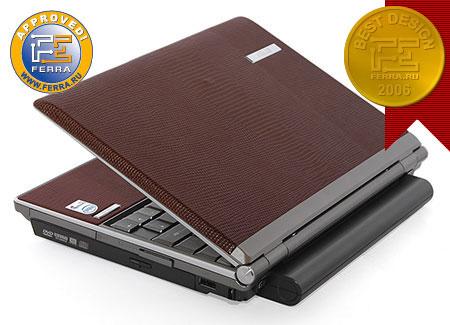 ASUS S6F: первый в мире «кожаный» ноутбук