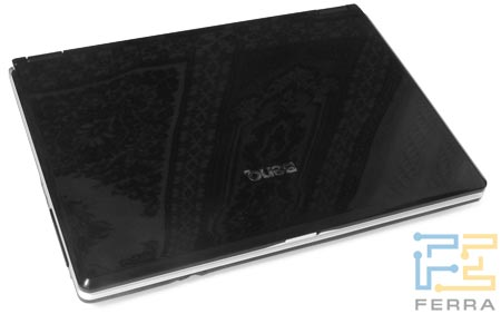 BenQ Joybook P52 в закрытом состоянии