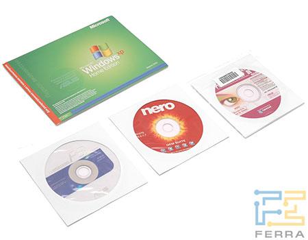 ASUS F3Ja: программное обеспечение