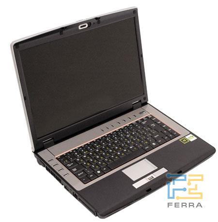 Desten EasyBook D845: вид спереди