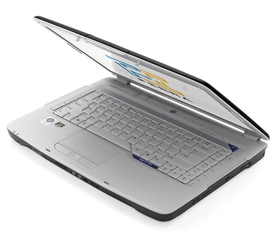 Acer Aspire 5920: вид спереди