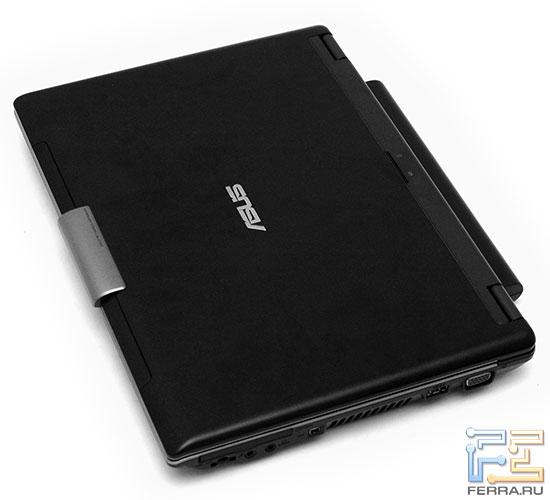 ASUS W7S: крышка ноутбука