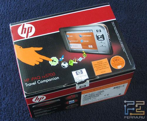 HP iPAQ rx5730 – новый стиль коробки