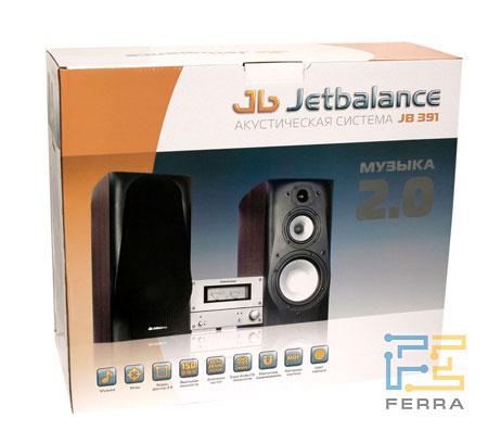JetBalance JB-391: коробка