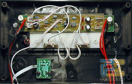 JetBalance JB-391: передняя панель усилителя 2