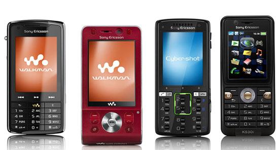 Свежие анонсы от Sony Ericsson