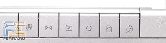 Клавиатура SVEN Multimedia EL 7010 – левый верхний блок дополнительных клавиш