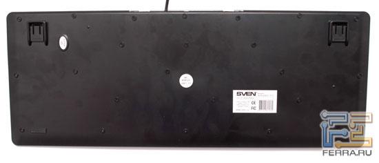 Клавиатура SVEN Multimedia EL 7010 – вид снизу