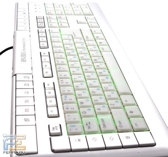 Клавиатура SVEN Multimedia EL 7010 – перспектива