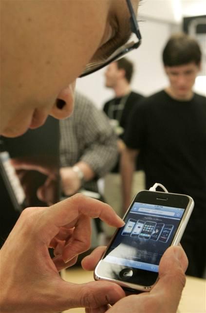Первое знакомство с iPhone