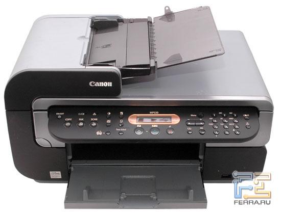 Canon PIXMA MP530: панель управления 1