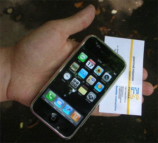 Apple iPhone в тестлабе Ferra.ru