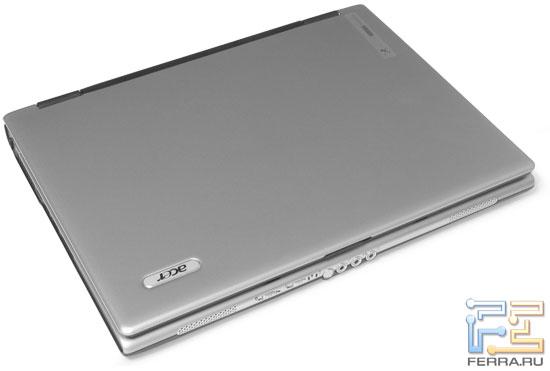 Acer Extensa 5513 NWMLi: внешний вид в закрытом состоянии