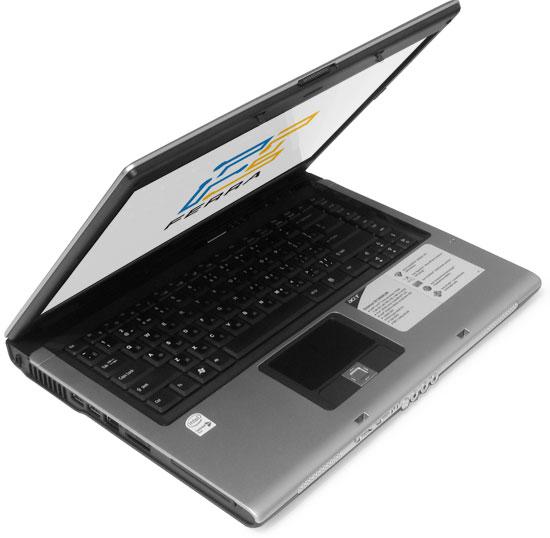 Acer Extensa 5513 NWMLi: внешний вид в приоткрытом состоянии