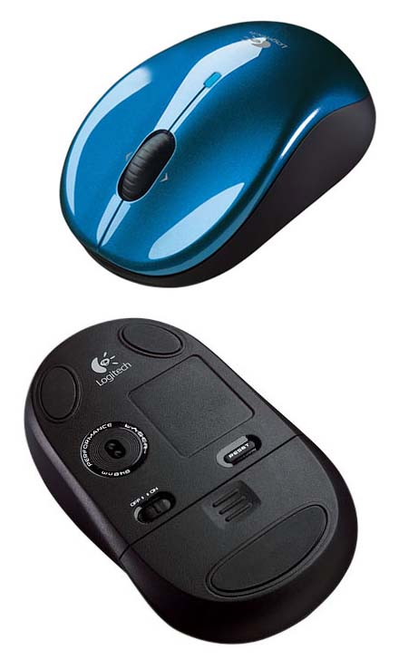Logitech V470 Cordless Laser Mouse for Notebooks