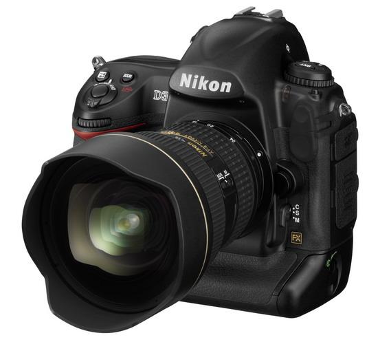 Nikon D3, первая полнокадровая цифровая зеркалка от Nikon