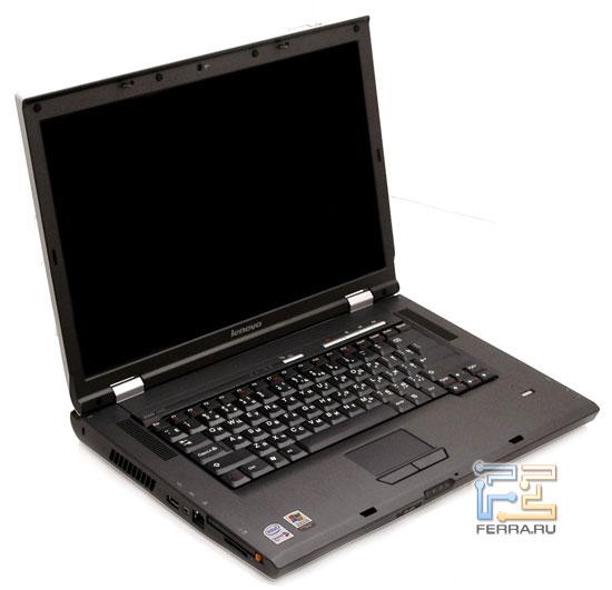 Lenovo 3000 N100: внешний вид в открытом состоянии