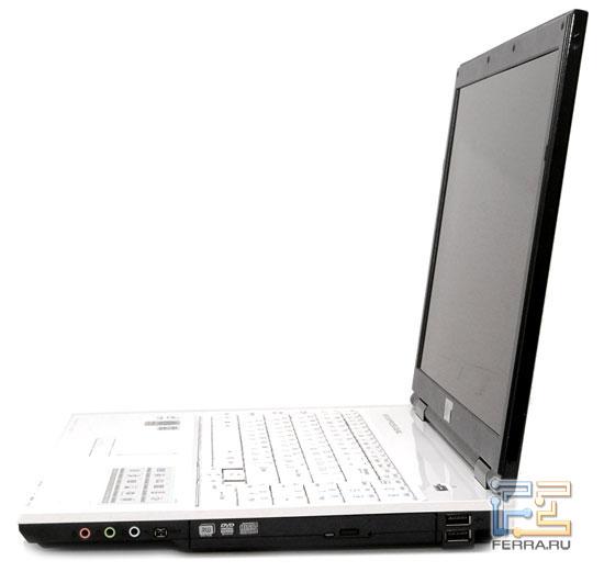 LG P1 Pro: внешний вид в открытом состоянии