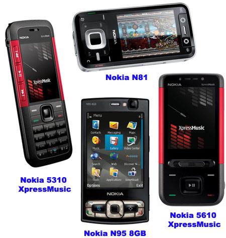 Новинки Nokia