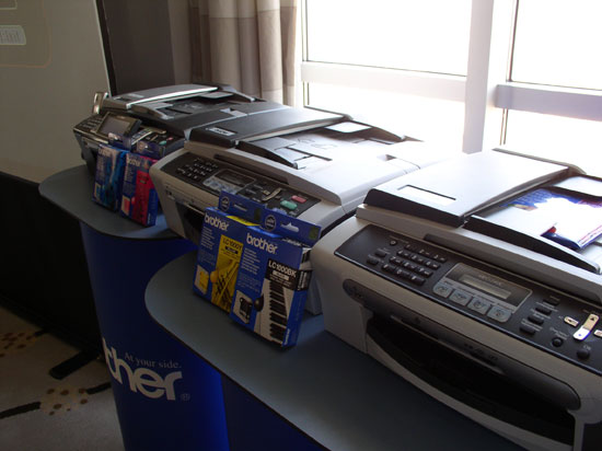 Рассмотренные лазерные принтеры были не единственными представленными устройствами 1