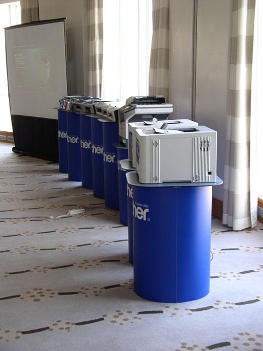 Рассмотренные лазерные принтеры были не единственными представленными устройствами 3